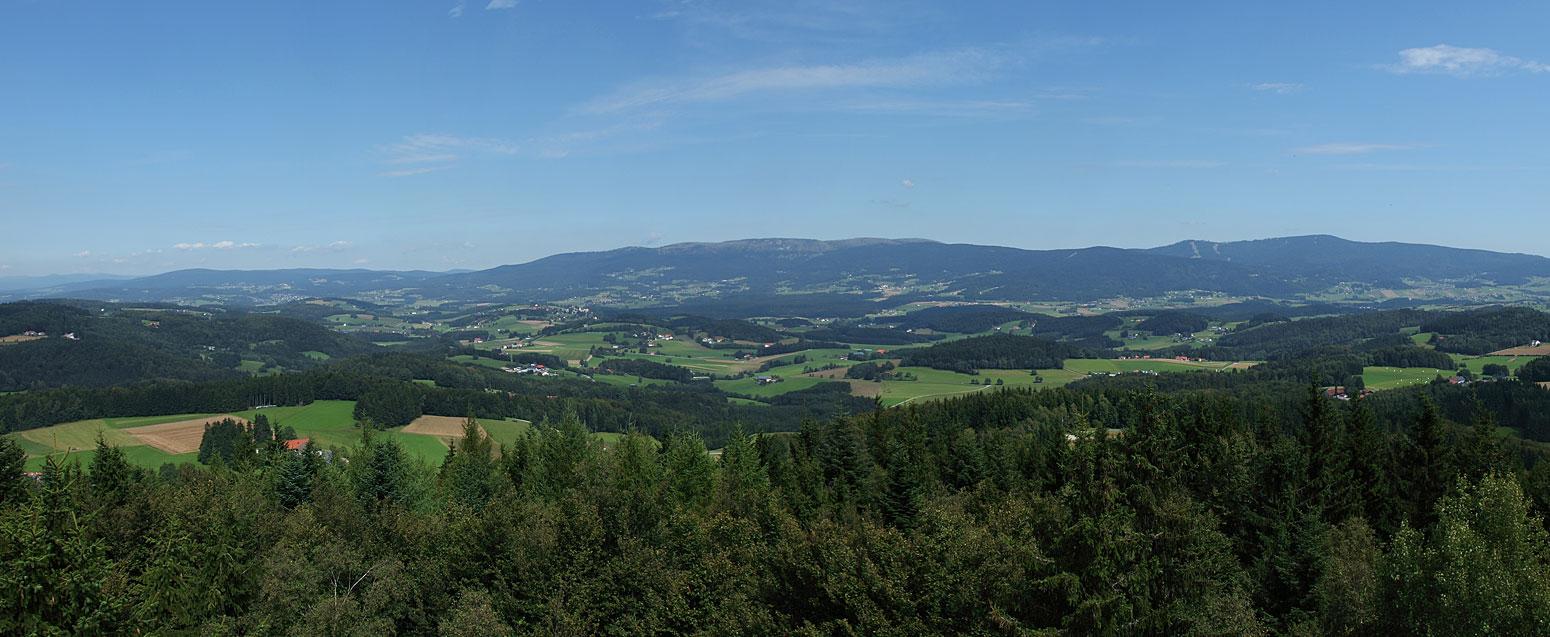 Dreiländereck Bayerischer Wald Karte.Karte Bayerischer Wald Mit Wegbeschreibung Nach Wegscheid