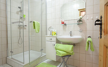 Ferienwohnungen in Bayern - Badezimmer