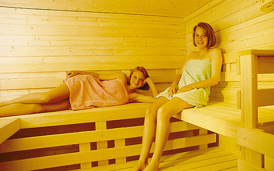 Landhaus Altweck in Bayern - Sauna